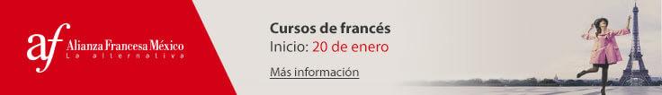 Próximo curso de francés: Iniciamos el 20 de enero.